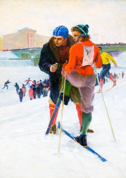 Соревнования на приз А. Матросова.