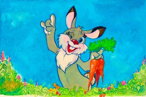 Счастливый заяц.