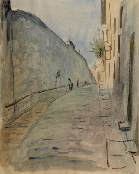Улица южного города.
