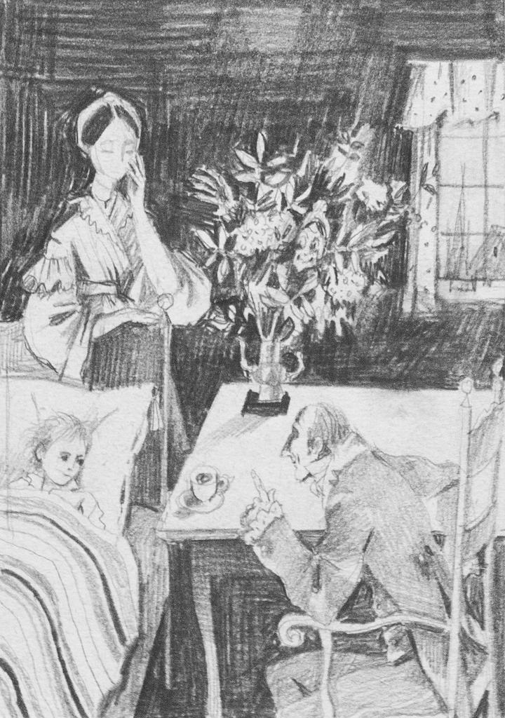 Иллюстрация к сказке Г.Х. Андерсена