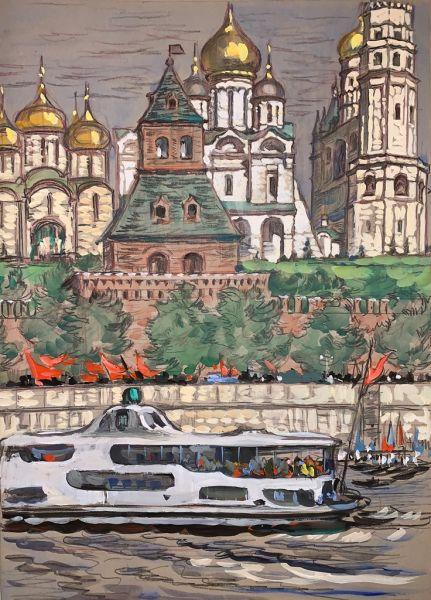 Москва. Первомай.