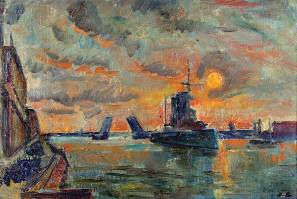 Петроград. 1917 год-ноябрь.