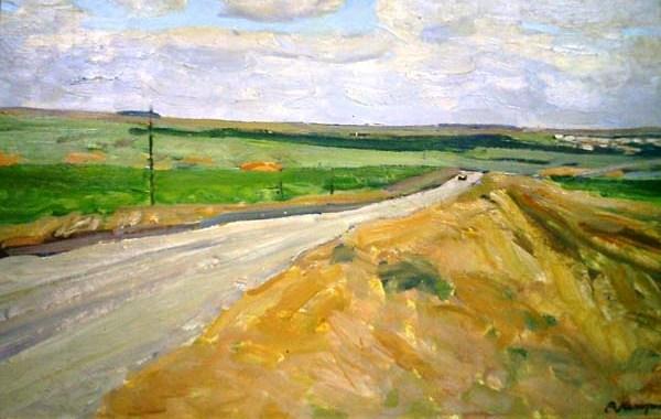 Дорога на Кубани.