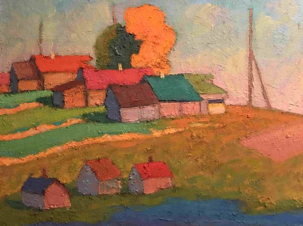 Деревня Малые Олепинцы.