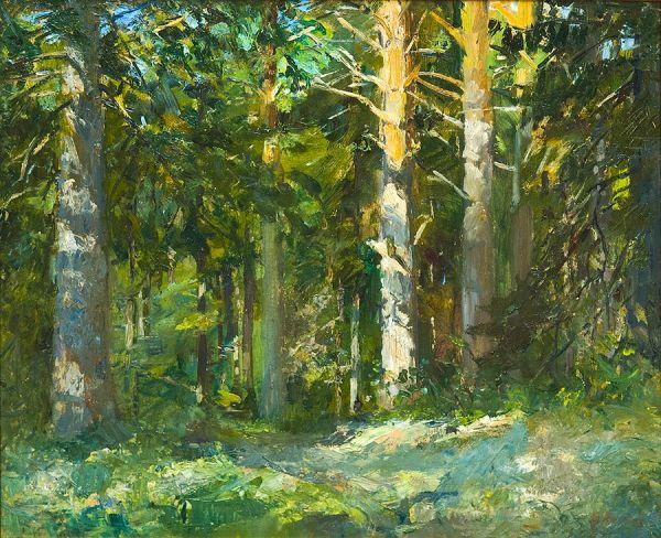 Дорожка в лесу.