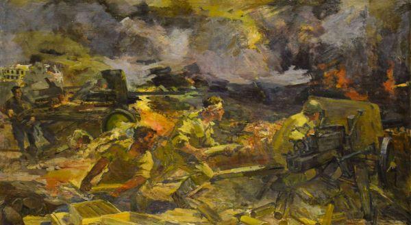 Подвиг артиллеристов.
