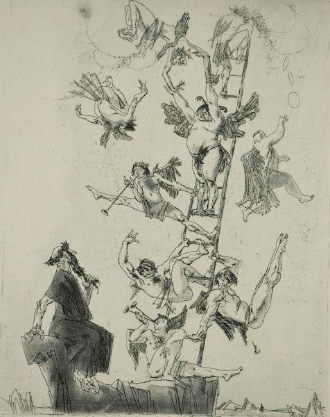 Иллюстрация к книге Е.Ярославского «Библия для верующих и неверующих».