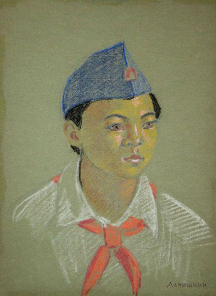 Портрет пионера СССР.