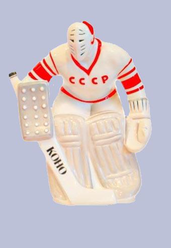 Скульптура «Вратарь СССР».