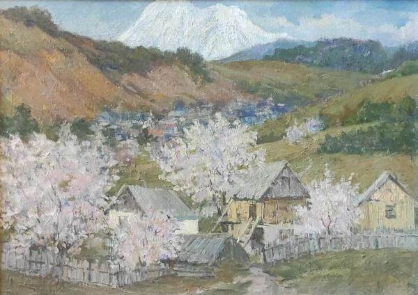 Весна в горах Абхазии.