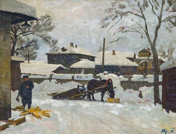 Зима в Борисоглебе.