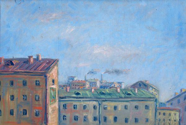 Ленинградские крыши.