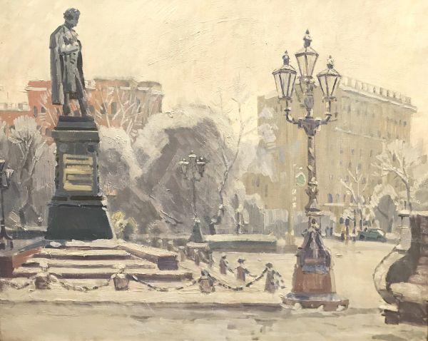 Памятник А.С. Пушкину в Москве.