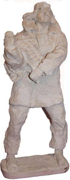 Одна из скульптур к проекту