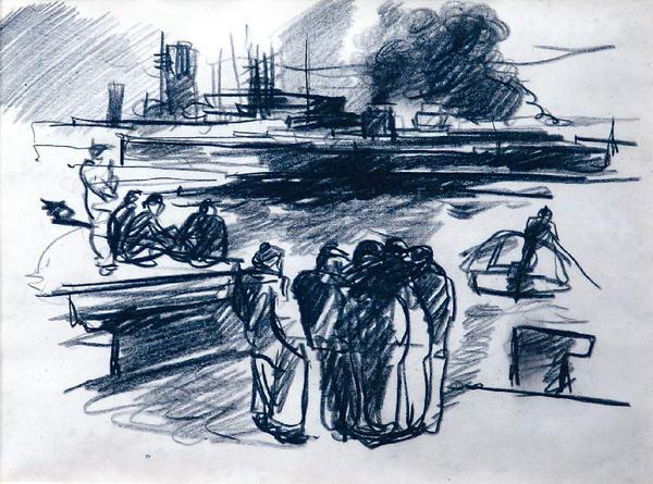 В порту. Зарисовки.