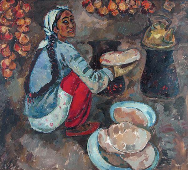Узбекская женщина.