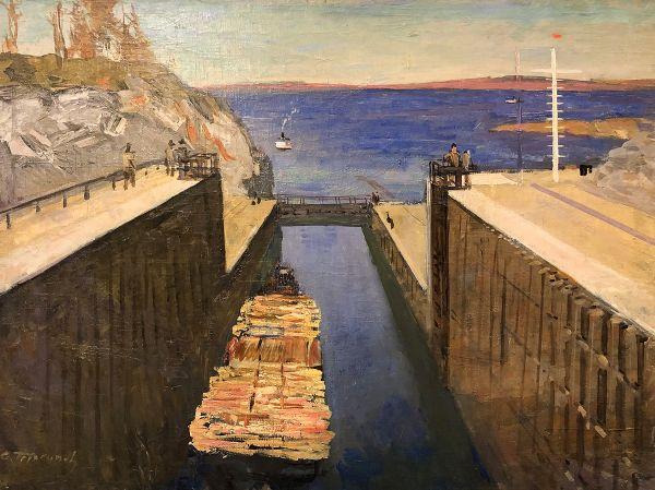 Беломорско-Балтийский канал.