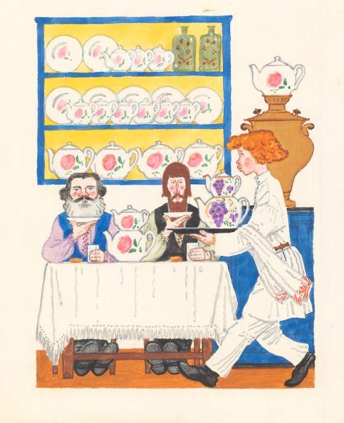 Иллюстрация к детской книге Ю.С. Аракчеева и Л.М. Хайлова