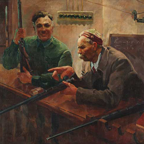 Купить советскую живопись