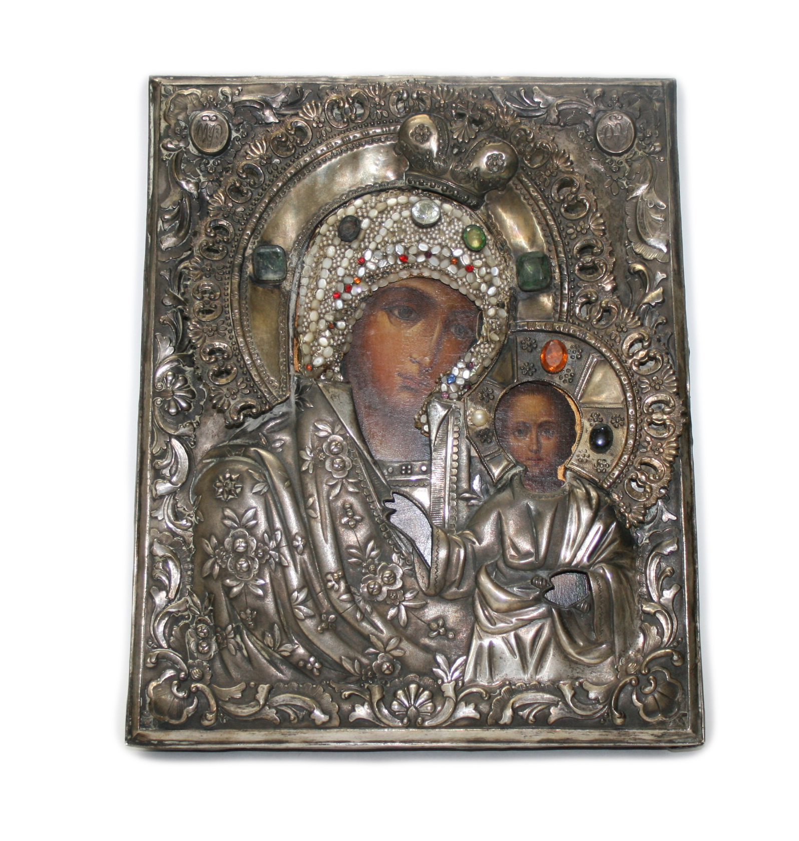 Icon of Kazan Mother of God.