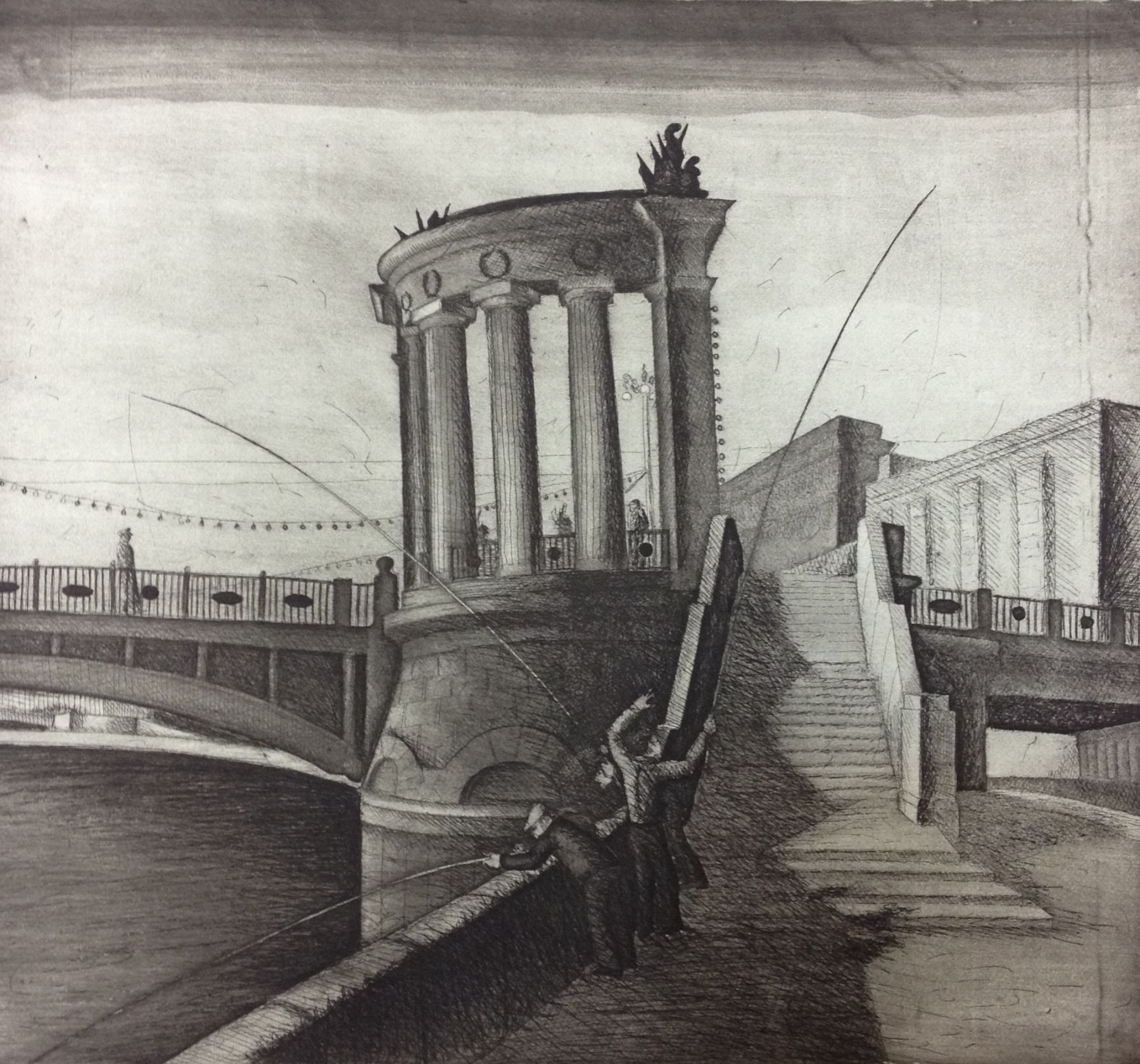 Borodinsky Bridge.