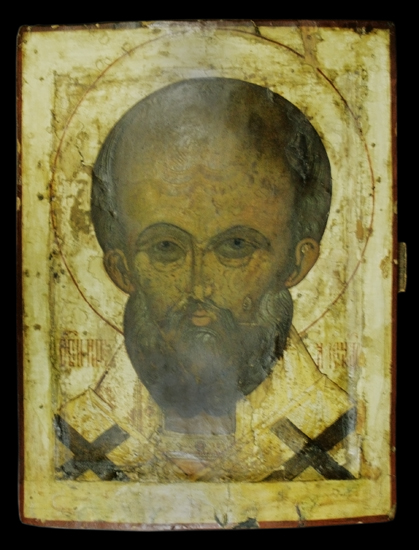Icon St. Nicholas the Wonderworker.
