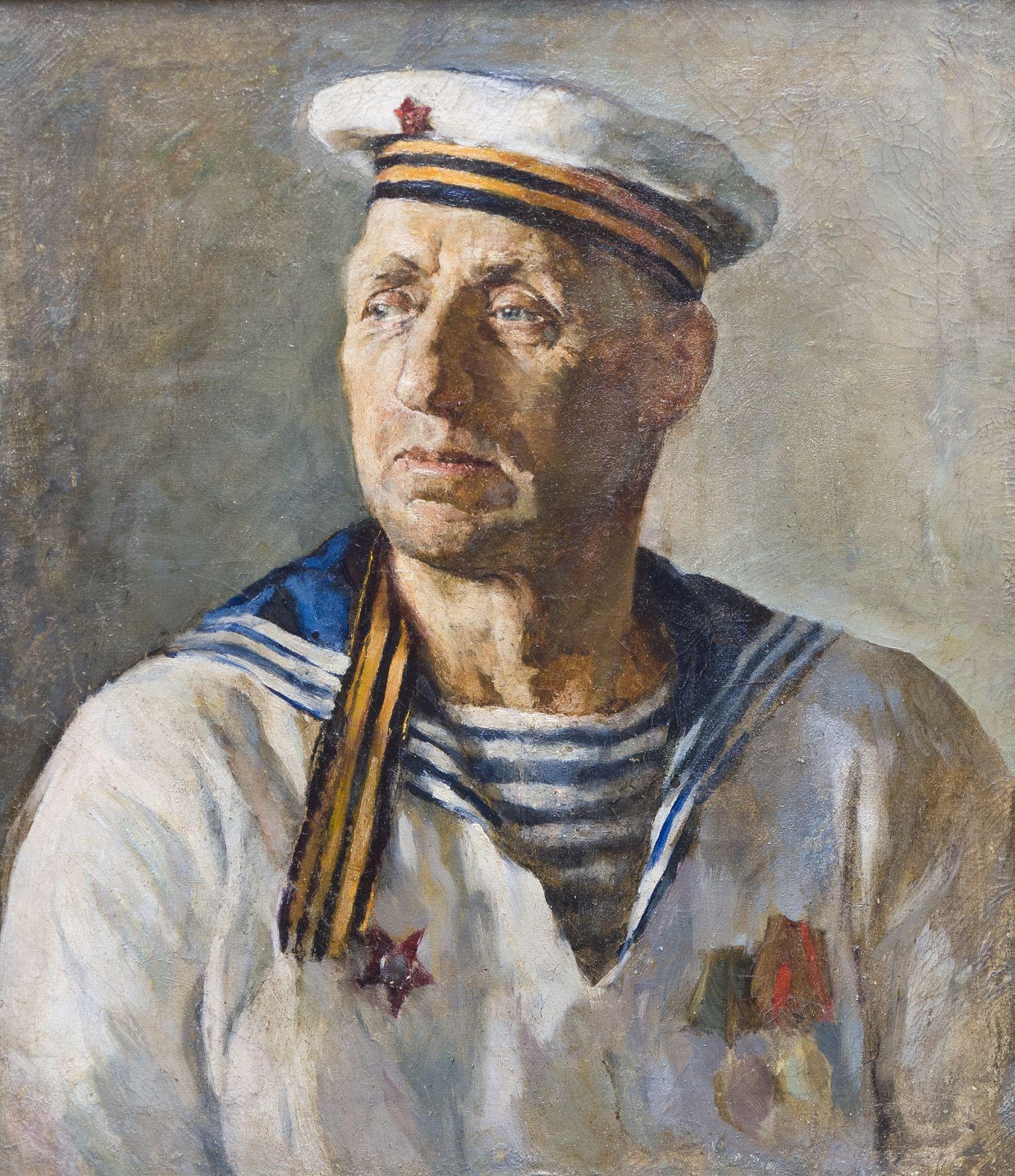 Portrait of a sailor.