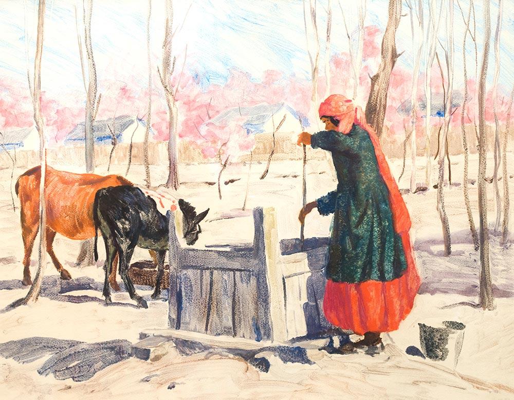 Вода. Казахстан.