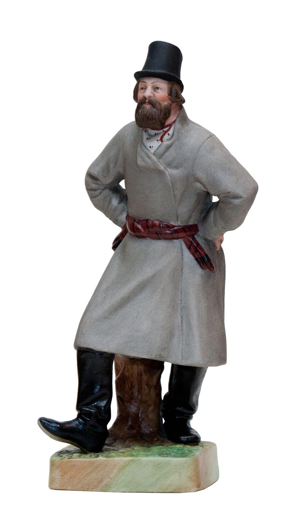 Пляшущий крестьянин.