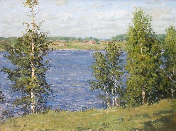 Водохранилище у Тишково.