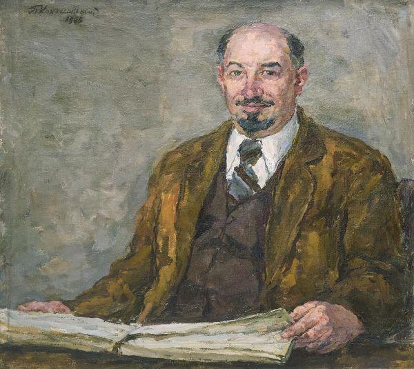 Портрет профессора Николая Петровича Ремизова.