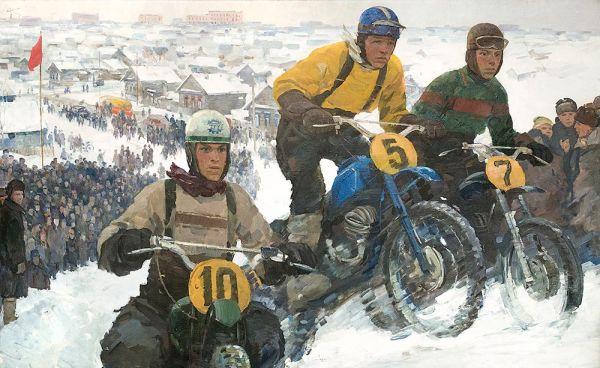 Спорт для смелых. Гонки на мотоциклах.
