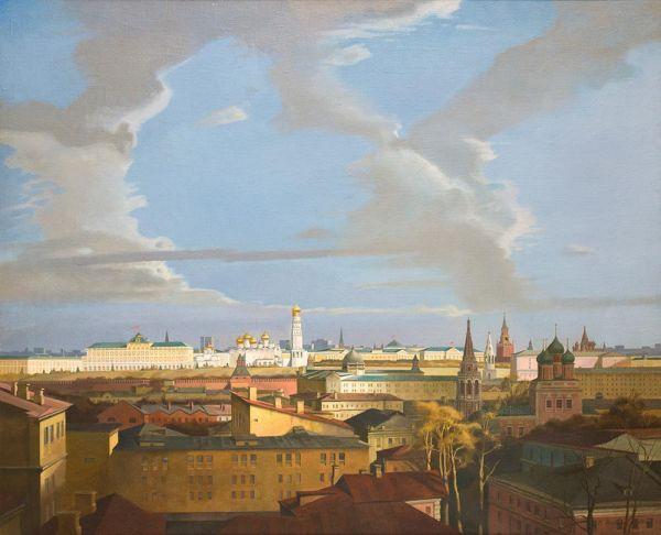 Московский Кремль из Замоскворечья.