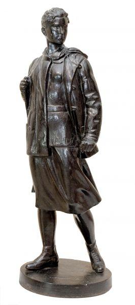 Зоя Космодемьянская.