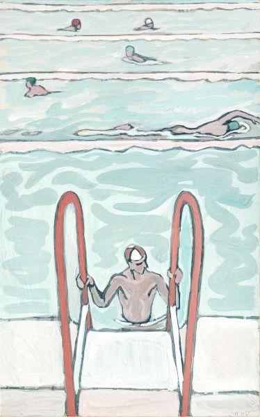 Пловцы.