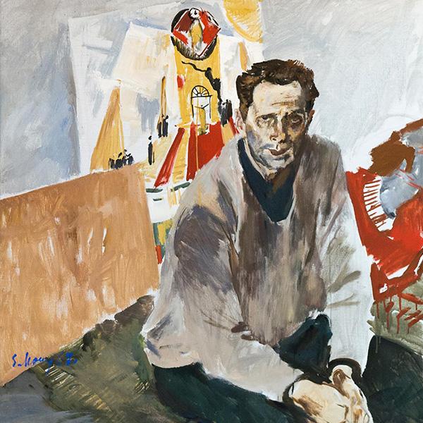Портрет художника Н.Н. Золотарева.